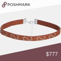 ✨Coming Soon!!✨ Brown Choker LIKE this listing to be notified when this item becomes available!! Will be sold for: $12  This is perfect for the upcoming festival season! PRICE FIRM.  • Material: Faux Leather • No trades/paypal/other apps! 0131172. amyscloset19 Jewelry Necklaces