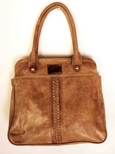 FREEDOM leather handbag