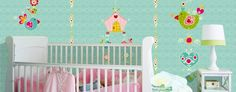 Niedliche Wandbilder fürs Babyzimmer