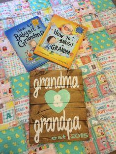 Pregnancy Reveal to Grandparents