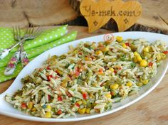 Renkli Şehriye Salatası Resimli Tarifi - Yemek Tarifleri