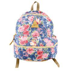 I love the Nila Anthony Floral Backpack from LittleBlackBag