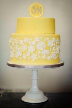 Yellow Wedding Cakes - Asian Wedding Ideas