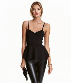 Peplum Top | Party in H&M