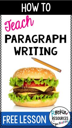 how to teach paragraph writing Writing Complete Sentences, Writing Mini Lessons, Paragraph Writing, Narrative Writing, Persuasive Writing, Teaching Writing, Teaching Ideas, Writing Activities, Teaching Tools