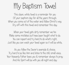 Remember Day, White Towels, Coming Out, Christ, Cleaning, How To Make, Baby, Newborns, Babys