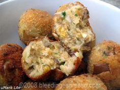 eggplant balls--been looking for a way to eat more eggplant. looks yummy!