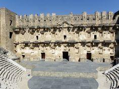 Teatro de Aspendos. Turquia.