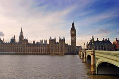 Houses of Parliament and Westminster Bridge photograph picture print by AE Photo #london #photograph #picture