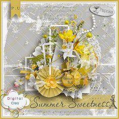Scrapcoco & Co: Summer sweetness & freebie