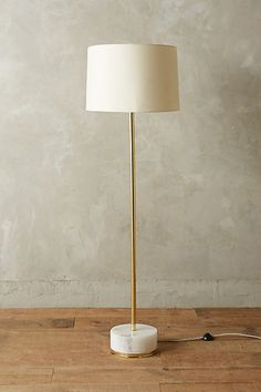 Radiant Alabaster Floor Lamp Ensemble #anthropologie