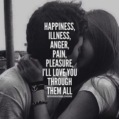 I Will Love You Through It All