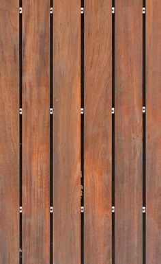 red wooden boards with metal fixings seamless texture