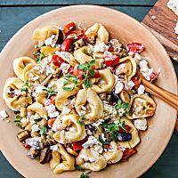 Köstliches für Vielbeschäftigte: Pfannen-Moussaka mit Tomaten, Auberginen und Feta