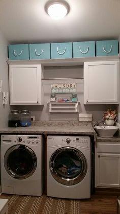 New laundry room...