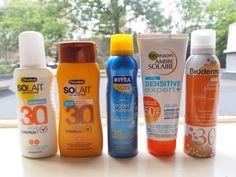 Meer dan 3 verschillende merken zonnebrand