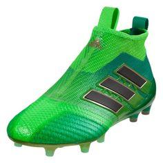 promo code b7571 de2d4 adidas Ace 17+ Purecontrol FG (Solar GreenCore Green)