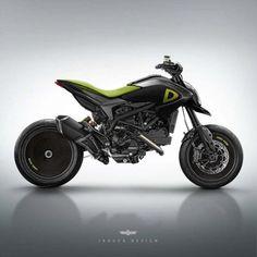 Assorted Ducati Concepts by Jakusa Design - Asphalt & Rubber Triumph Motorcycles, Concept Motorcycles, Cars And Motorcycles, Ducati Custom, Custom Bikes, Motocicleta Ducati Hypermotard, Porsche, Audi, Dodge