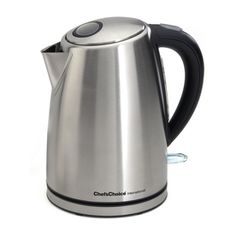 Chef'sChoice Stainless Steel International Cordless Electric Kettle Brushed Metal