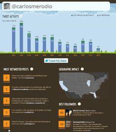 Vizify, Crea Una Infografía Gráfica Y Visual De Twitter