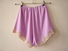lilac tap pants pantie french knickers with by FromEveWithLove