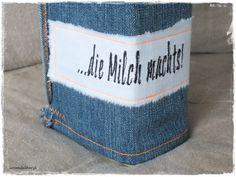 ♥Milchkleidchen, Jeans RECEYCLING♥ von Lavendelherz´l auf DaWanda.com