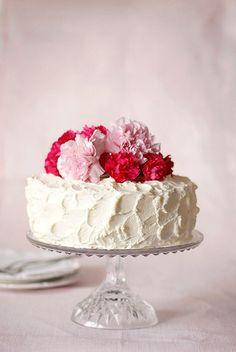 torta con garofani di carta