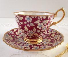 Royal Albert Chintz China Tea Cup & Saucer