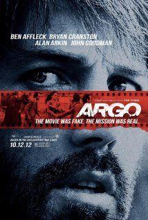 Argo (2012): Tal vez el mejor atractivo de esta cinta es que nos recuerda las buenas épocas de Robert Redford de los 70´s. Muy recomendable.