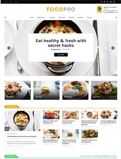MagPlus is clean and modern design responsive WordPress theme for #food #recipe blog and #magazine website with 40+ unique homepage layouts to live preview & download click on Visit 👆