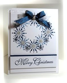 Stampin' Up, Snow Swirled, Me, My Stamps and I