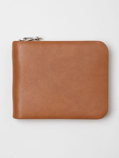 lamb leather zipper wallet ++ maison martin margiela