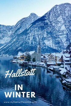 Questioning whether visiting Hallstatt in the winter is worth it? Wondering what to do in Hallstatt in the winter? Here's your answers. #hallstatt #hallstattwinter #winterinhallstatt #hallstattaustria #winterineurope