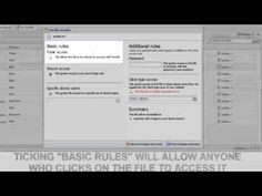 Dezrez Software- How To Use File Security In Document Storage Software, Storage, Youtube, Purse Storage, Larger, Youtubers, Youtube Movies, Store