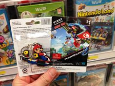 Mario Kart 8 Pre-Order Bonus Surfaces At Target • Looks like a key chain and a $5 card. • What ya waiting for?