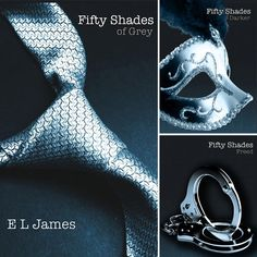 Fifthy Shades Of Gray Trillogy. So good and sooo deliciouly bad.