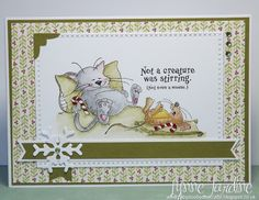 Ruby-Dooby-Doo Crafts: Christmas card #08