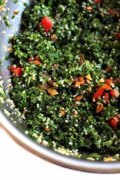 Quinoa & Kale Salad   Hummusapien