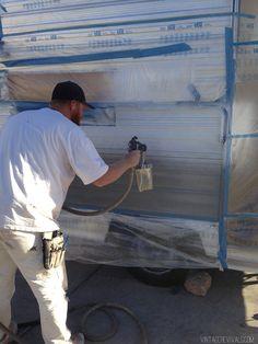 The Nugget: How To Paint the Exterior of a Trailer