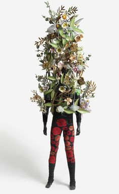 Nick Cave Sound Suit  http://www.brooklynmuseum.org/exhibitions/extended_family/images/Nick-Cave_600-wide.jpg