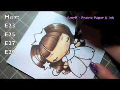 Copics - Coloring the TGF Princess Anya Image