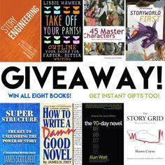 #Giveaway: Novelist Storytelling Bundle (#Win All Eight #Books!)