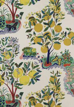 Citrus Garden Schumacher Fabric