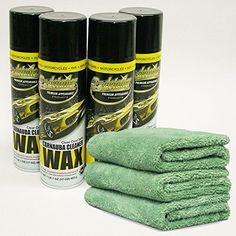 EZ WAX 579221 Premium EZ Detailer Cleaning Wax Combo 4 Pack w Microfiber Towels ** Be sure to check out this awesome product.
