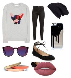 """""""chillin outfit"""" by alanarenee678 on Polyvore featuring Être Cécile, Halogen, Levi's, McQ by Alexander McQueen, Karl Lagerfeld, Voz Collective and Lime Crime"""
