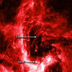 Filament points to Milky Way black hole | Space | EarthSky