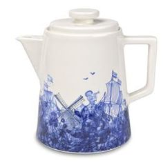 Delft Teapot designed by Piet Hein Eek for Douwe Egberts