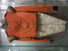 Officers uniform, Durham Light Infantary. 1800s.