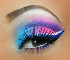 Dramatic eyeshadow - Eye Makeup - Augen Make Up Makeup Inspo, Makeup Art, Makeup Inspiration, Beauty Makeup, Makeup Ideas, Beauty Tips, Fairy Makeup, Makeup Style, Beauty Trends