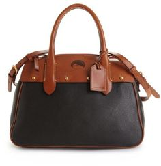 Dooney & Bourke Olympia Small Wilson Convertible Leather Satchel